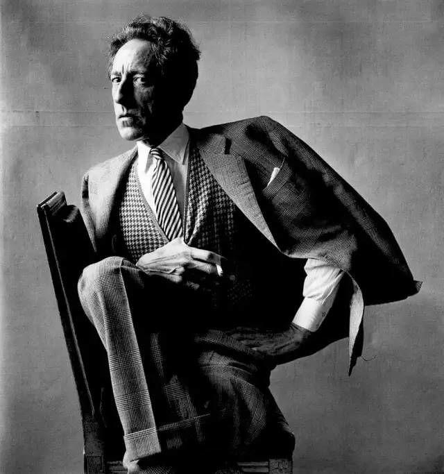 Irving Penn人物肖像摄影作品欣赏-16